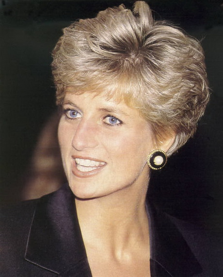 princess diana elegant short hairstyle hairstyles ideas