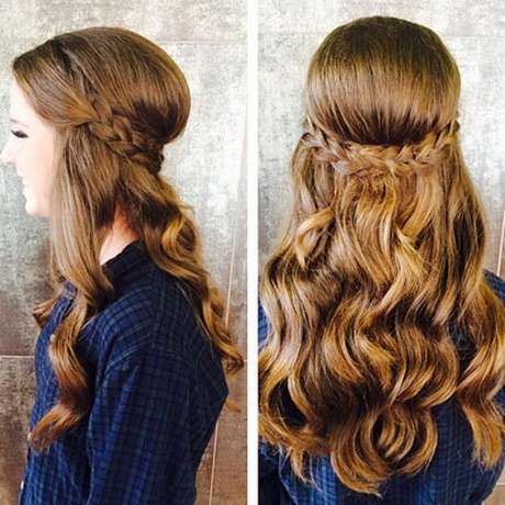 Homecoming hairstyles: trends pictures