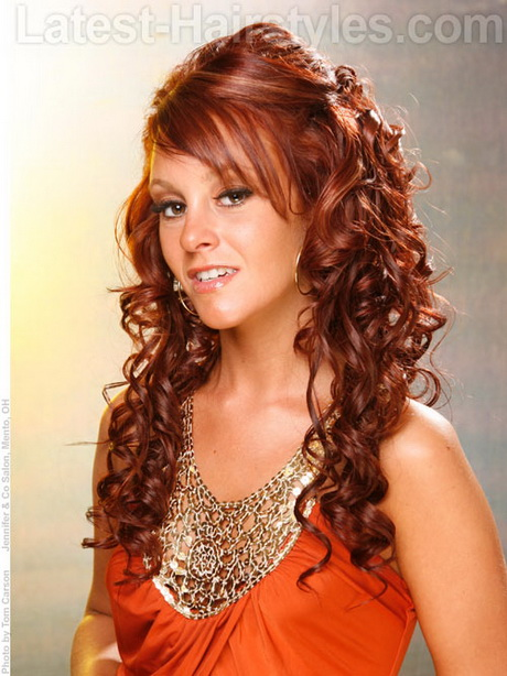 Prom Hairstyles For Long Hair Curly