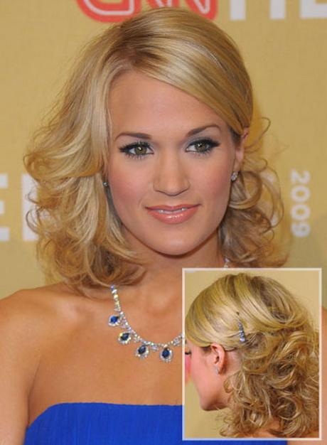 Prom hairstyles for medium length hair 1