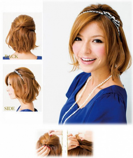 easy formal hairstyles instructions