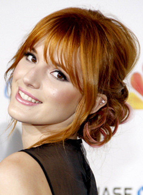 Prom hairstyles with bangs | 460 x 626 jpeg 86kB