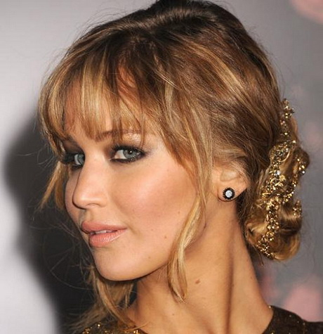 Prom Hairstyles With Fringe