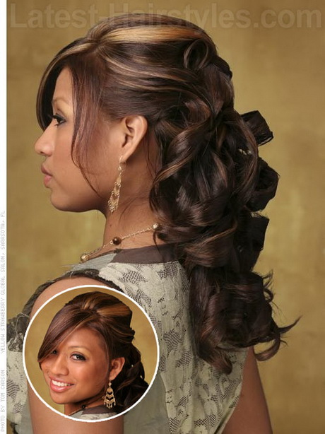half up half down prom hairstyle  Hairstyles  Păr