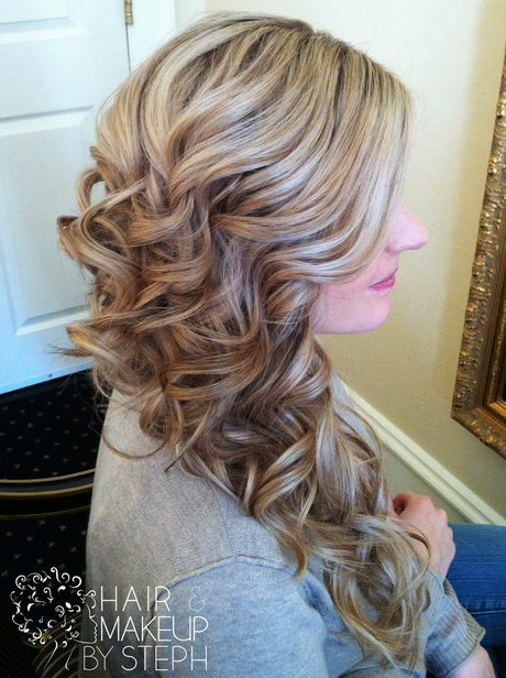 Formal hairstyles pulled to the side picture ideas with hairstyles and