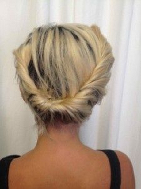 Image Result For Casual Updo For Short Curly Hair