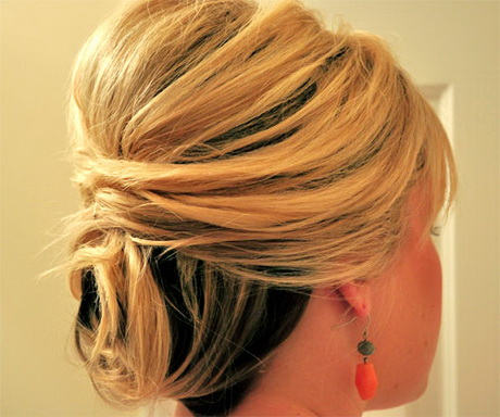For short length hair you can try the updo wedding hairstyle. It will ...