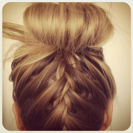 Hairstyle Up : All done up. The emergence of the topknot has been a relief to trendy ...