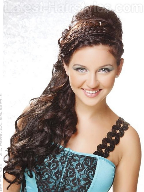 Quinceanera Hairstyles for Long Curly Hair Quinceanera Hairstyles for ...