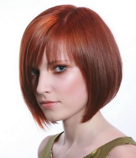 Red Medium Length Hairstyles