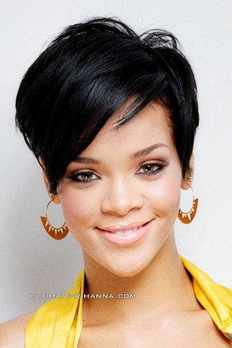rihanna new hairstyle : Rihanna Do u like Rihanna?s new haircut ?