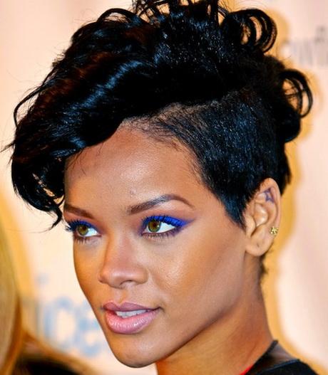 Rihanna Short Hair Styles 2014