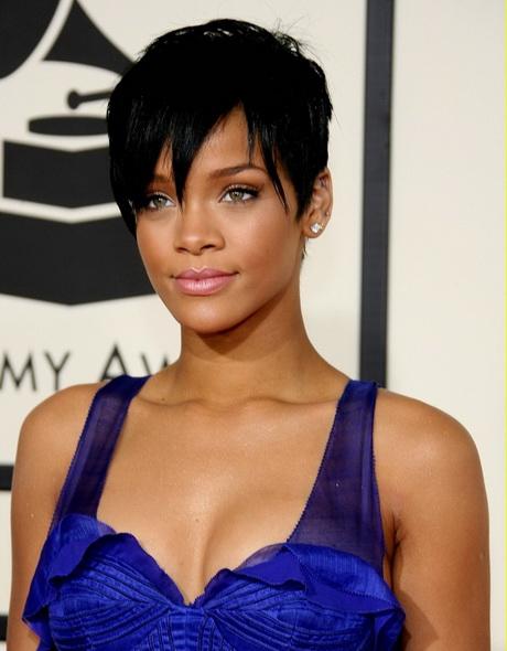 Rihanna short hair styles 2015