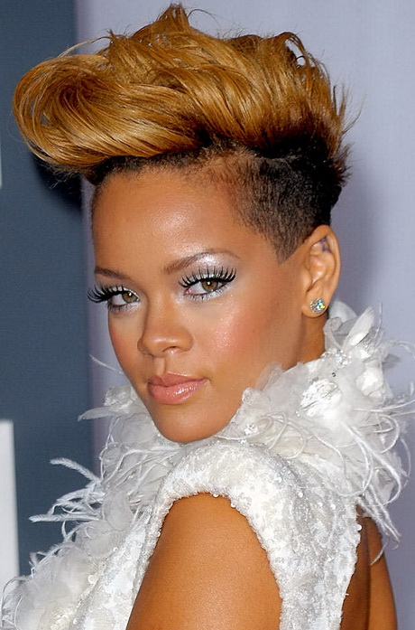 Rihanna short hairstyle new trend 2014 2015