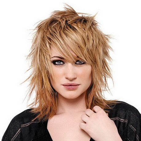 Rock hairstyles for women Рок Стрижки