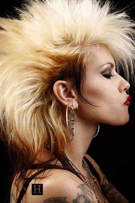 medium rocker haircuts rocker hairstyles for
