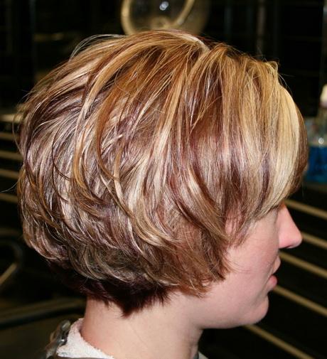Round Layered Haircut