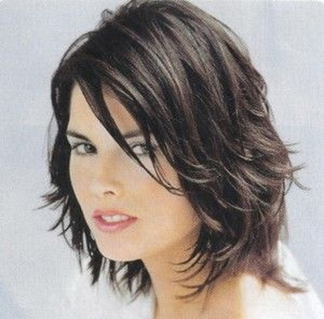 sassy hairstyles for medium length hair : Medium Length Sassy Shag Hairstyle Source: http://shag-haircuts ...