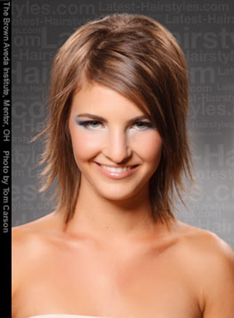 sassy hairstyles for medium length hair : ... multiple styles. The curled bob contains a shoulder length medium