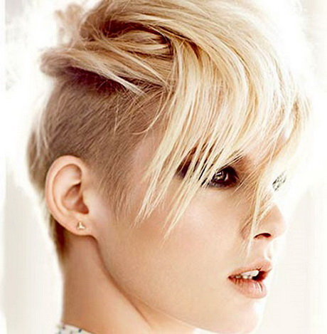 semi hairstyles : Semi shaved hairstyles for women