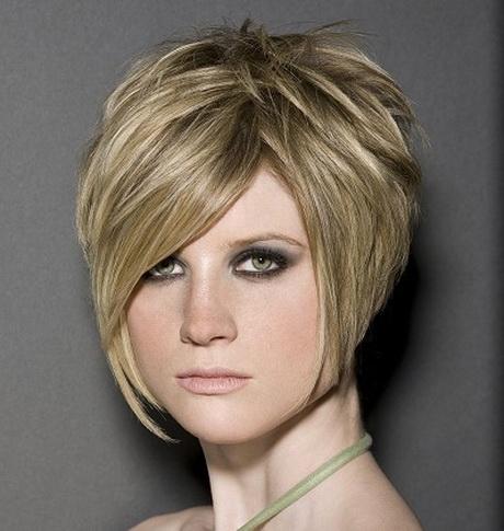 Semi short hairstyles for women