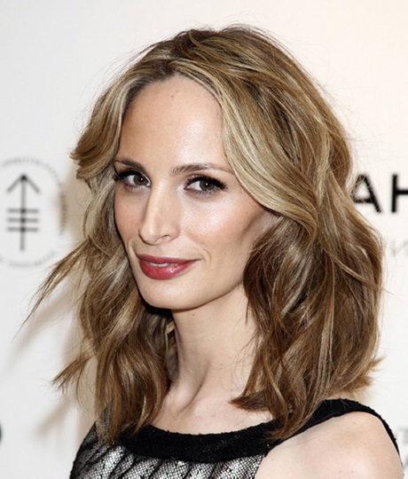 semi hairstyles : ... semi-formal occasions. shoulder curly hairstyle 30 Dandy Shoulder