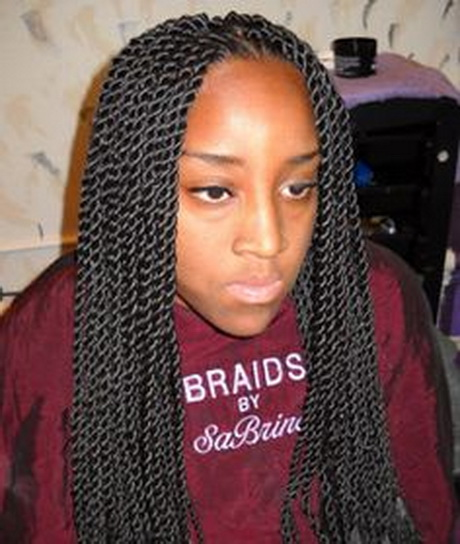 Unique Micro Twist Braids Hairstyles