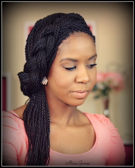 ... Hair Growth Challenge Two Strand Twist. Senegalese twist  hairstyle