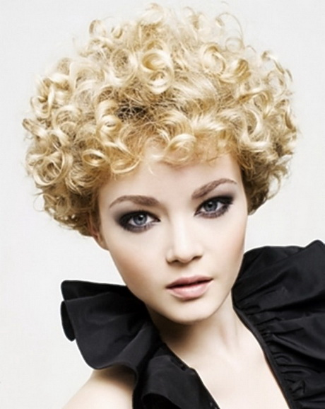 y short curly hairstyles
