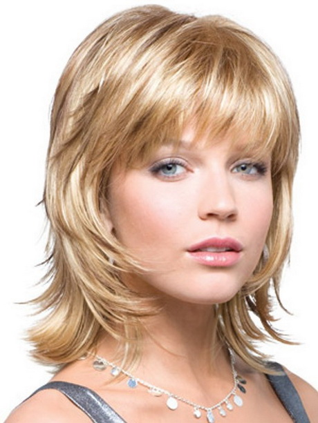 ... Medium Shag Hairstyles 2015. on layered hairstyles front and back view