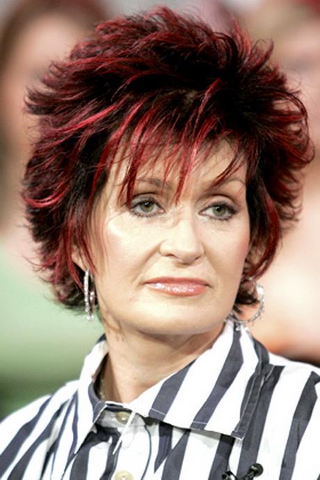 Sharon Osbourne Hairstyles