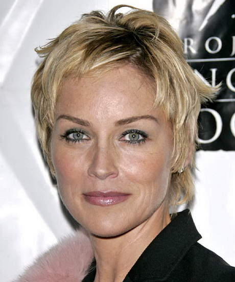 sharon stone hairstyles celebrity hairstyles by thehairstyler
