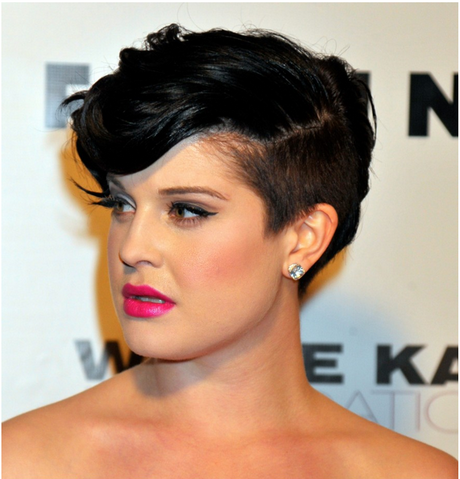25 Glamorous Half Shaved Hairstyles Pictures to pin on Pinterest