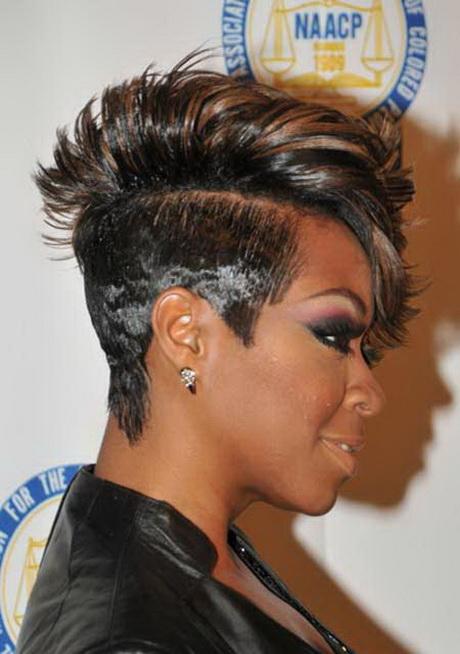 Short Black Mohawk Hairstyles