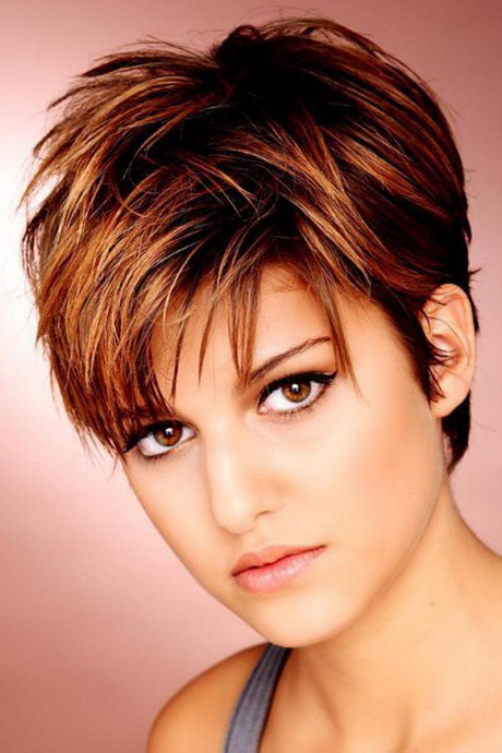 Short choppy haircuts for women