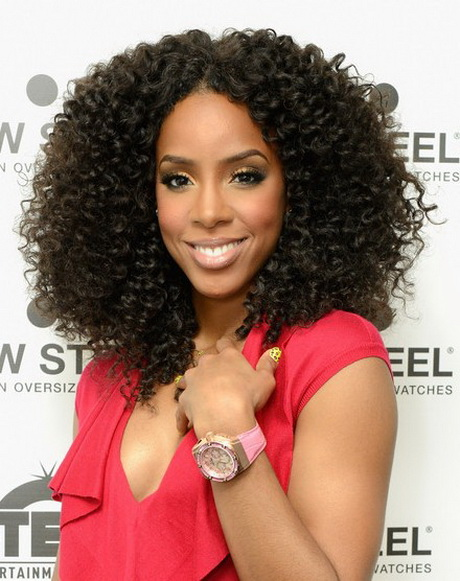 Hairstyles For Long Kinky Hair : Curly African American Hairstyles African American Curly Hairstyles ...
