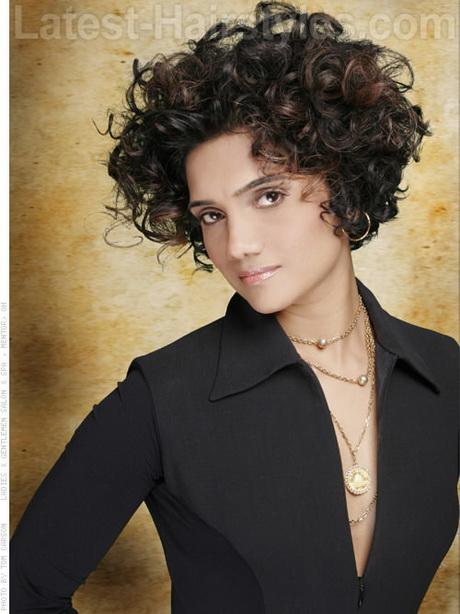 Short Curly Haircuts 2014