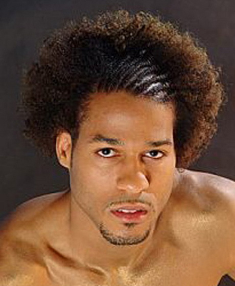 Best Haircut For Curly Hair Black Male :
