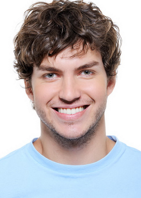 Short Curly Hairstyles Men Hairstyle