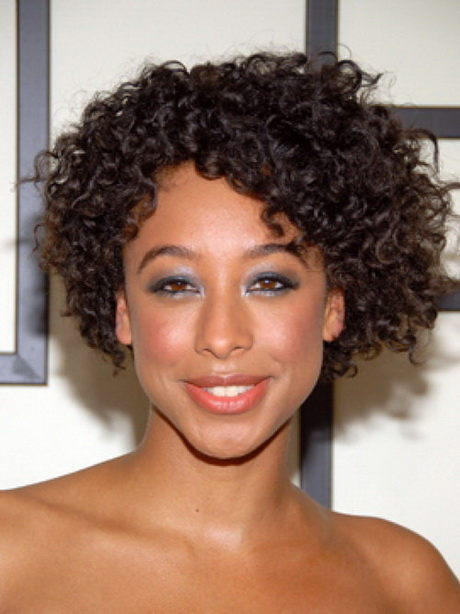 Short curly hairstyles for natural hair