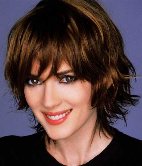 Hairstyles For Curly Hair And Oval Face : Short wavy hairstyles for oval faces