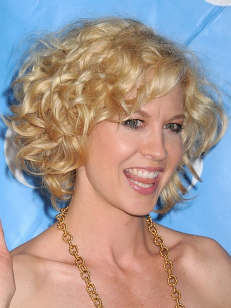 curly hairstyles with bangs and layers : Short curly hairstyles for women over 50