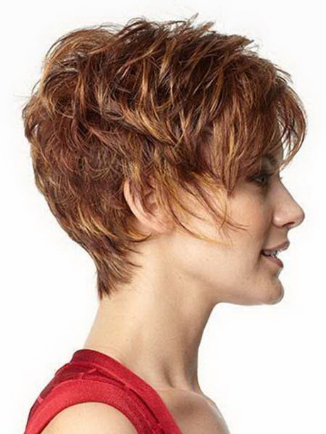 Short Curly Hairstyles Bangs