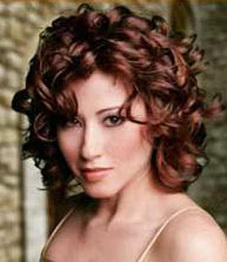 current hairstyle trends : Short curly red hairstyles