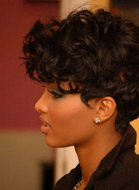 curly short weave hairstyles for black women