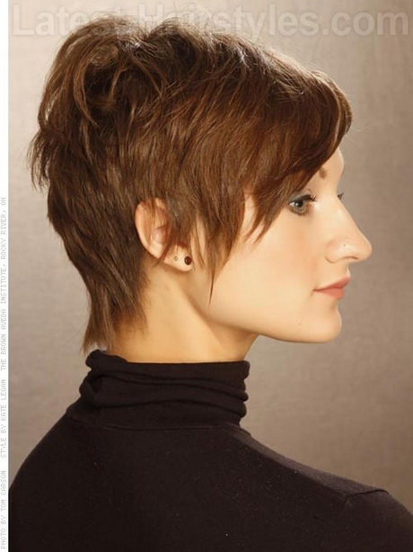Short Wispy Hairstyles For Women