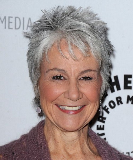Amazing  Will Also Give You A Cute Look Short Grey Hair Styles For Older Women