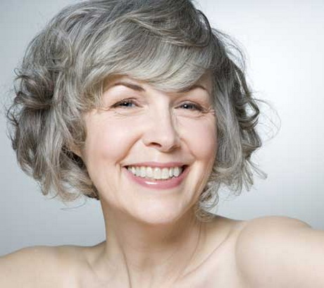 short gray hairstyles for women
