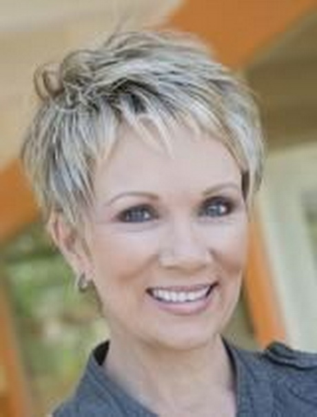 Short Grey Hairstyles