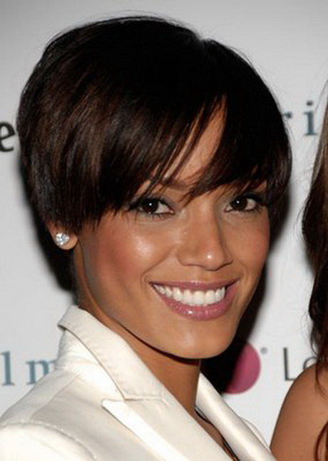 african american short hairstyles for round faces …